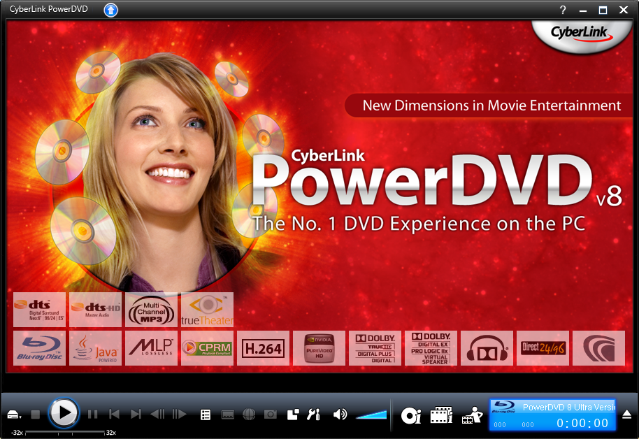 Cyberlink powerdvd ultra 8 0 1531 org
