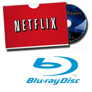 Netflix Blu-ray Rentals