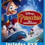 Disney's Pinocchio's Blu-ray version will also include the DVD version