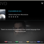 PowerDVD 9: Cinema Mode Colour Coded Buttons