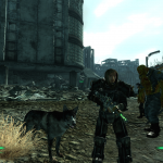 Fallout 3: Actual screenshot from my save game - great game, crap patches