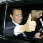 Sarkozy gives a big thumb up to DVD piracy when it suits him