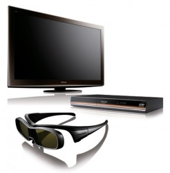 Panasonic 3DTV and 3D Blu-ray Player