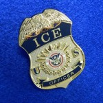 US Immigration and Customs Enforcement Badge