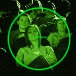 Cinema Audiences Being Watched