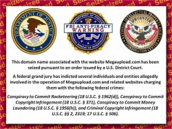 MegaUpload Seized