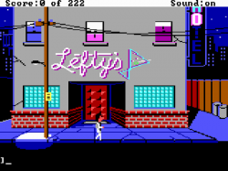 Leisure Suit Larry in the Land of the Lounge Lizards - Original