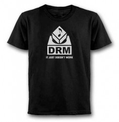 DRM Doesn't Work T-Shirt