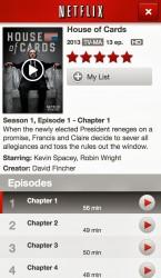 Netflix 5.0 on iOS 7