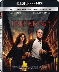 Inferno Ultra HD Blu-ray Cover