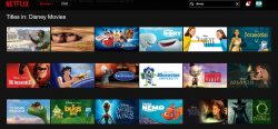 Disney content on Netflix