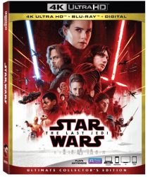 Star Wars: The Last Jedi 4K Ultra HD Cover