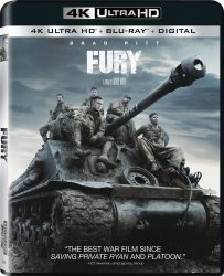 Fury Ultra HD Blu-ray