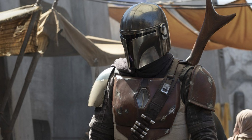 Still from the TV show 'The Mandalorian'