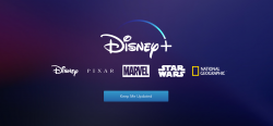 Disney+ Website