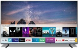 Samsung's smart TV with custom iTunes app