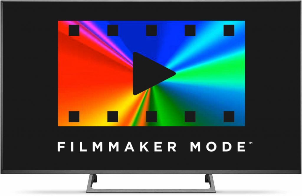 The logo for Filmmaker Mode