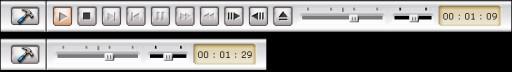 PowerDVD 4.0's new Toolbars
