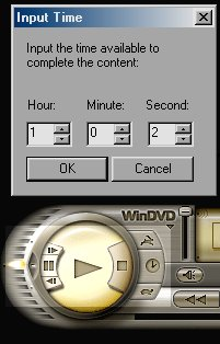 WinDVD 4's Time Stretch Function