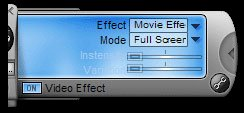 WinDVD Platinum's Video Effects