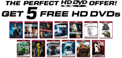 Free HD DVD movies