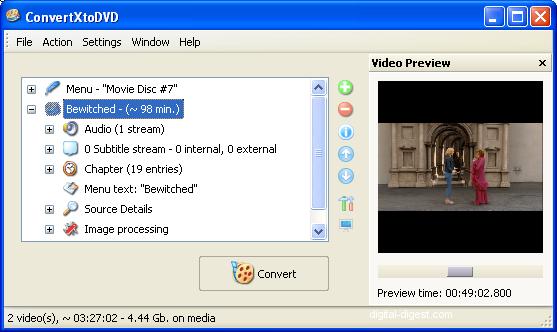 ConvertXtoDVD: Video Preview