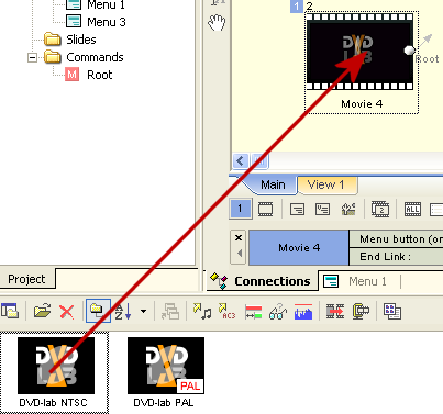 DVD-lab Pro: Add Clip