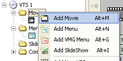 DVD-lab Pro: Add Movie