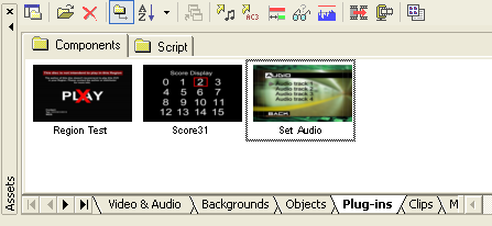 DVD-lab Pro: Set Audio