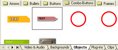 DVD-lab Pro: Objects