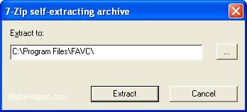 FAVC: Installation
