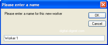 MeGUI: Create New Worker