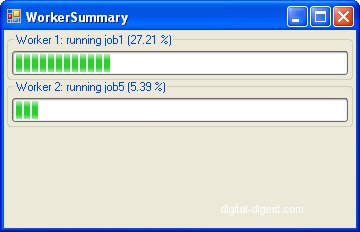 MeGUI: Worker Summary