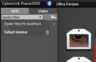PowerDVD 10: Bookmark Viewer