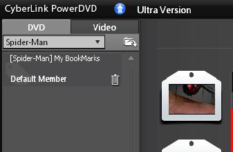 PowerDVD 10: Bookmark Viewer