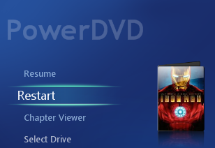 PowerDVD 10: Cinema Mode