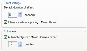 PowerDVD 10 Configuration: Movie Remix