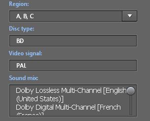 PowerDVD 10: Disc Info
