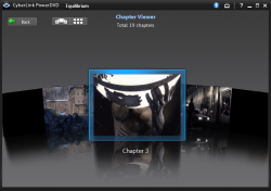 PowerDVD 10: FancyView Navigation Chapter View