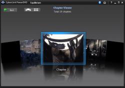PowerDVD 10: FancyView Navigation Chapter View