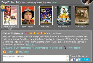 PowerDVD 10: Facebook, Twitter and MoovieLive Features