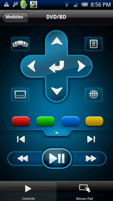 PowerDVD 11: Android Controls