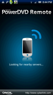 PowerDVD 11: Android Server Search