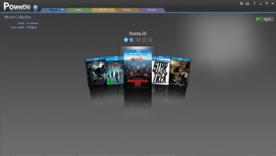 PowerDVD 11: Movie Collection FancyView