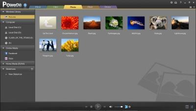 PowerDVD 11: Photo Management