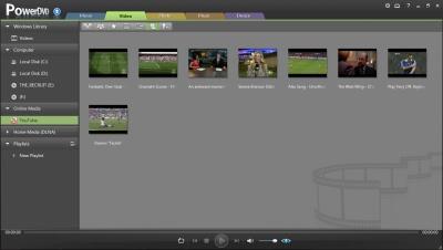 PowerDVD 11: YouTube - My Videos