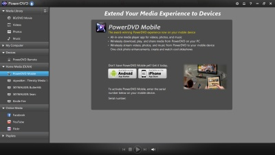 PowerDVD 12: Mobile