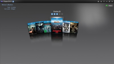 PowerDVD 12: Movie Collection FancyView