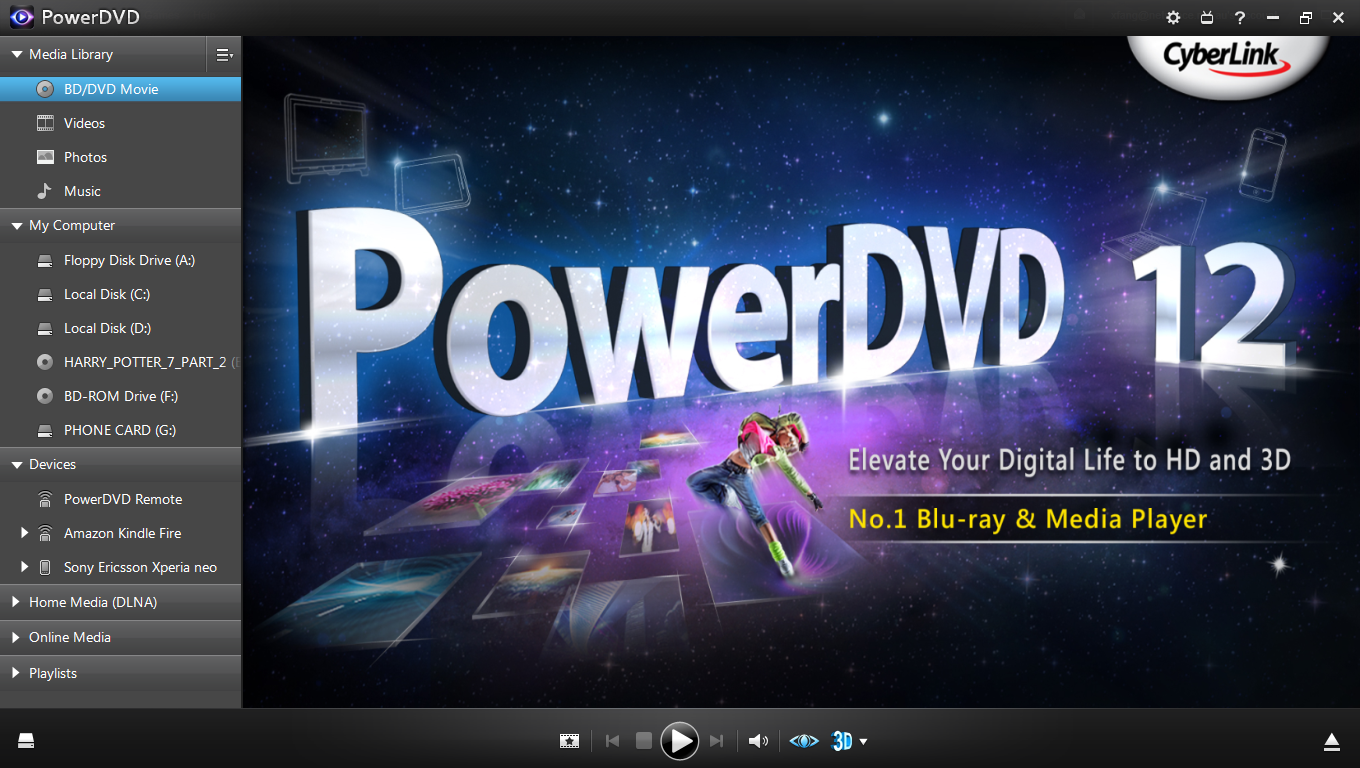 Recommend the Best Alternative to PowerDVD for Mac and Windows