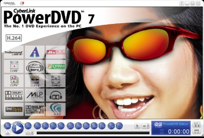 PowerDVD 7.0's Docked Mode